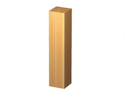 優れた強度と耐久性 集成材柱