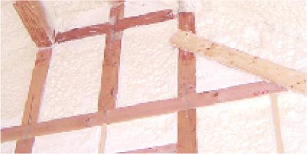 木質系戸建て住宅専用吹付けウレタン フォームライトSL